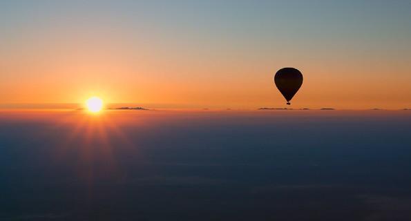 Hot Air Balloon, Dubai Safari Tour