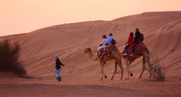 camel rides, Dubai Desert Safari