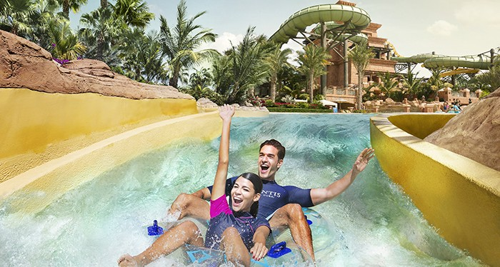 Have a splash at Atlantis Dubai