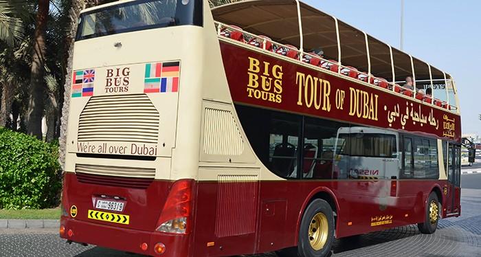 Explore the city of Dubai with the Big Bus tour