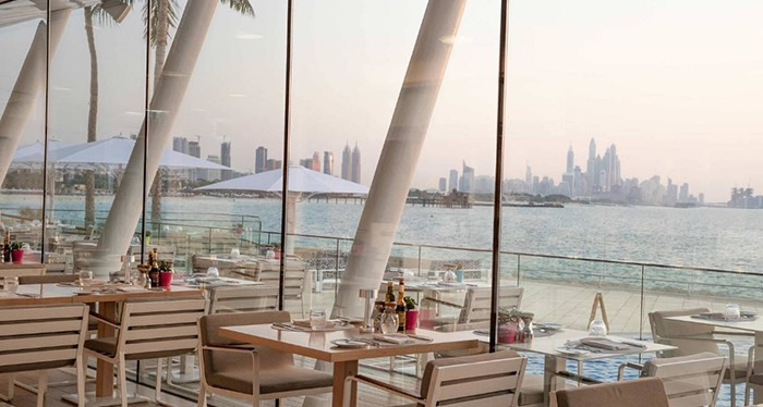 Have a luxurious dining experience at the Burj al Arab