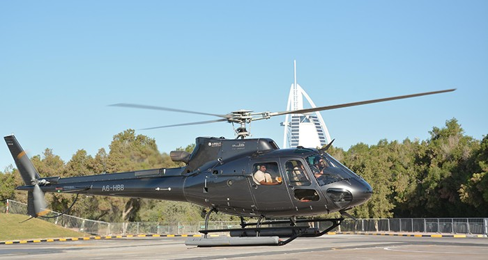 Check out one of the most luxurious hotels in Dubai, Helicopter Tour Dubai