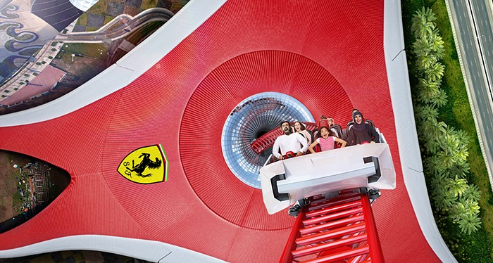 Unleash your inner racer at Ferrari World.