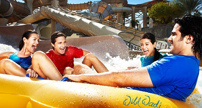 Splash your day with Wild Wadi