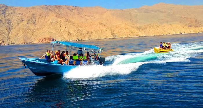 Cruise along at Musandam Oman