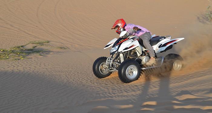 Explore the golden dunes of Dubai with the Quad Bike Safari Dubai, Quad Biking Dubai