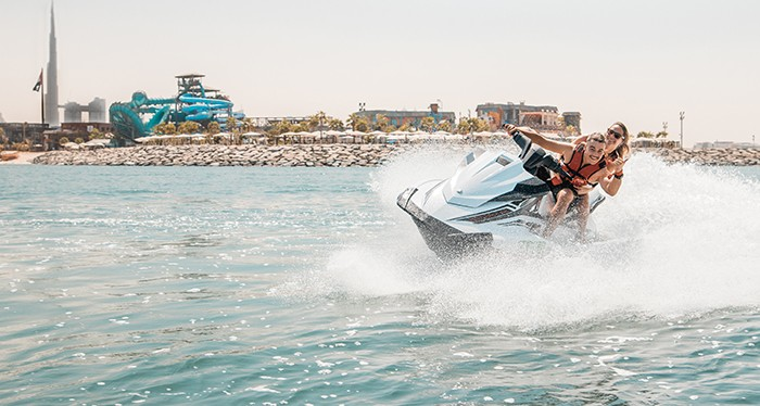 Zoom across the dubai waters with the jet ski water sport, water sports in dubai