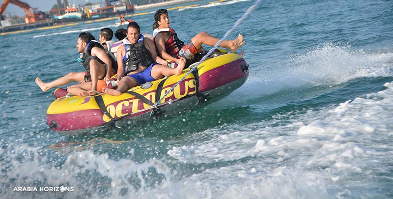 Donut Ride, donut boat