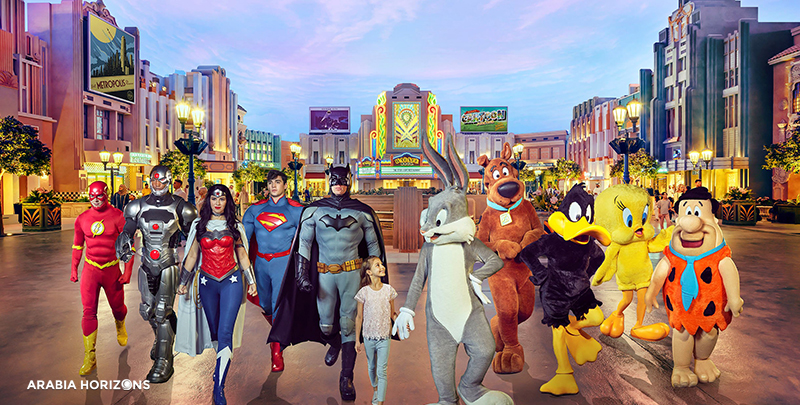 Warner Bros World Abu Dhabi, warner bros abu dhabi tickets