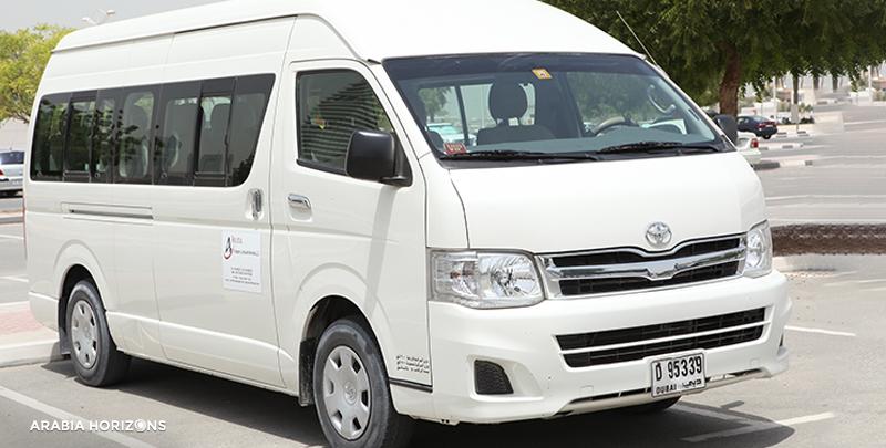 Mini Bus Transfers, mini bus dubai