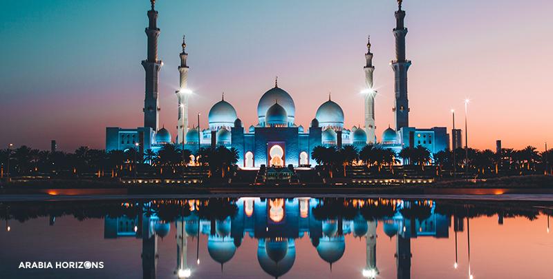 Abu Dhabi - Grand Mosque & Louvre Museum, abu dhabi package, sheikh zayed mosque, louvre museum