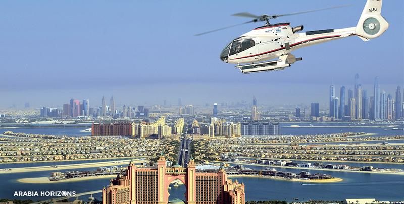 Atlantis Helicopter Tour, dubai helicopter, helicopter ride in dubai