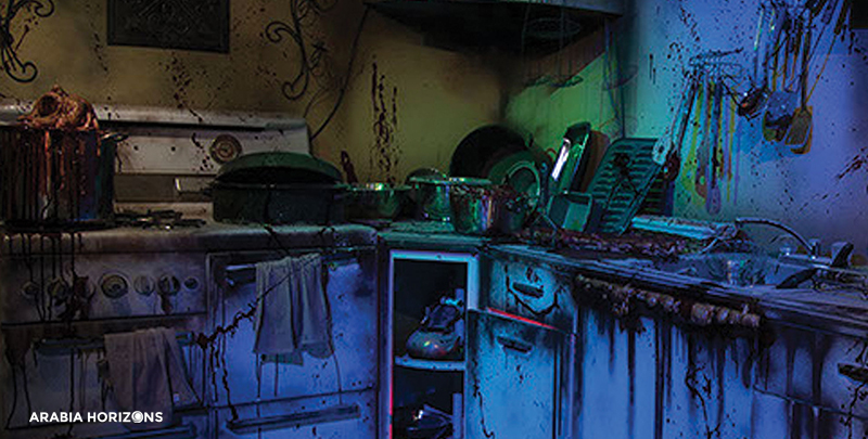Hysteria Haunted Attractions, haunted house dubai, haunted attractions