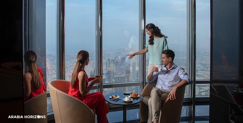 The Lounge - Burj Khalifa, dubai burj khalifa hotel, burj dubai hotel
