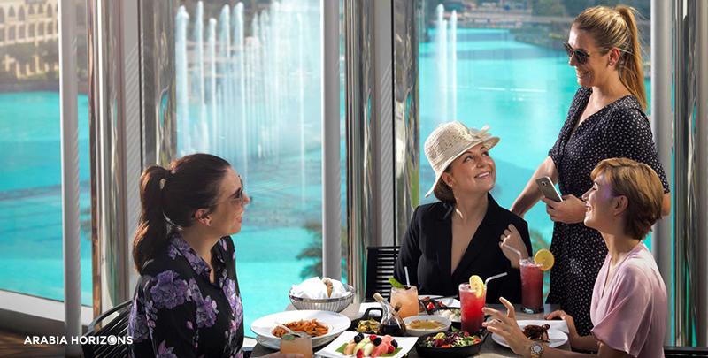 Burj Khalifa - The Burj Club, the burj khalifa, khalifa dubai