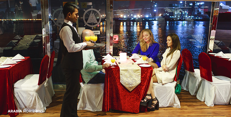 Dhow Cruise With Dinner - Dubai Canal, dubai water canal cruise, dubai canal cruise