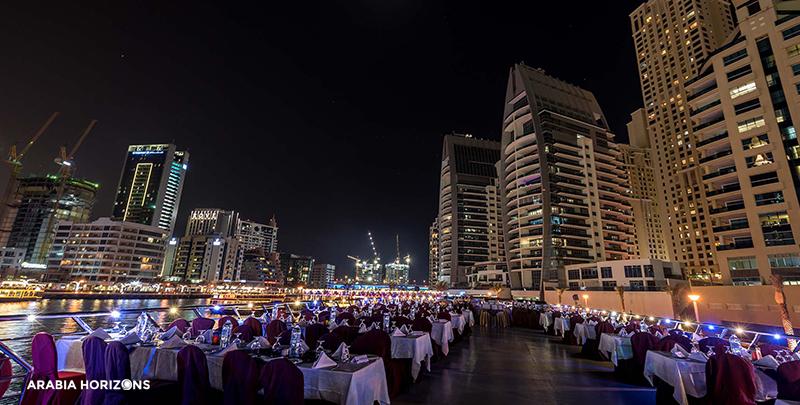 Luxury Marina Dhow Dinner Cruise, dhow cruise marina, dhow cruise dubai marina