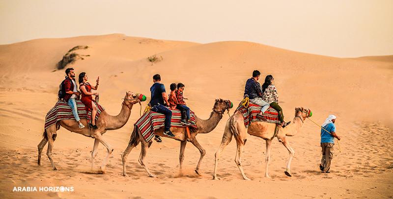 Evening Desert Safari, Camel Safari, Camel Ride