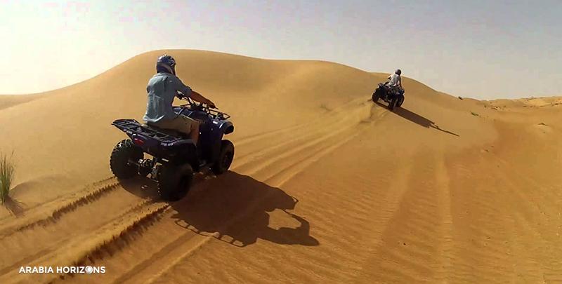 1001 Adventure Quad Bike Tour, Quad Bike Tours, Dubai Tour, Desert Quad Biking Dubai