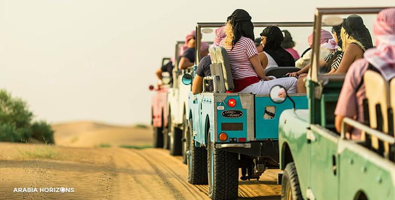 Heritage Overnight Safari and Gourmet Breakfast, Overnight Desert Safari, dubai safari cars