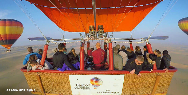 Hot Air Balloon - Falconry - Breakfast, hot air balloon dubai, falconry in uae